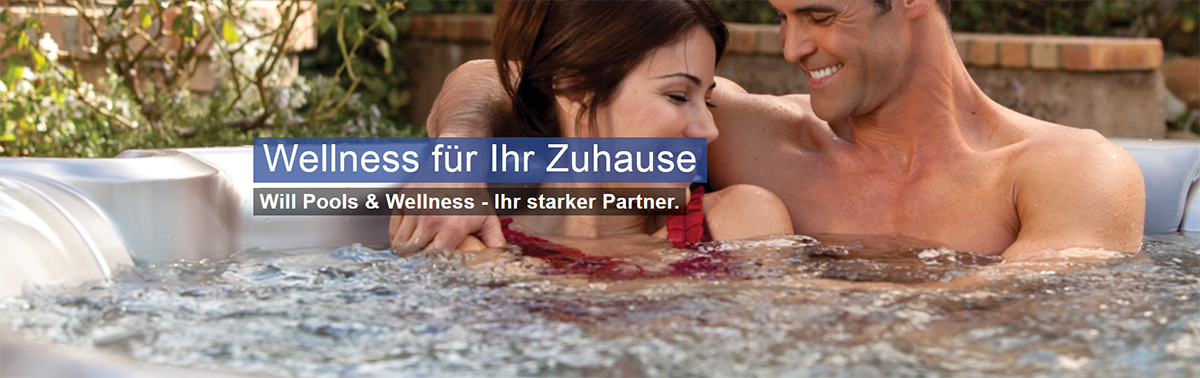 Garten-Whirlpools in Germersheim - WILL: Schwimmbadbau, Hot-Tubes, Swim-Spa, Swimmingpools, Wellness