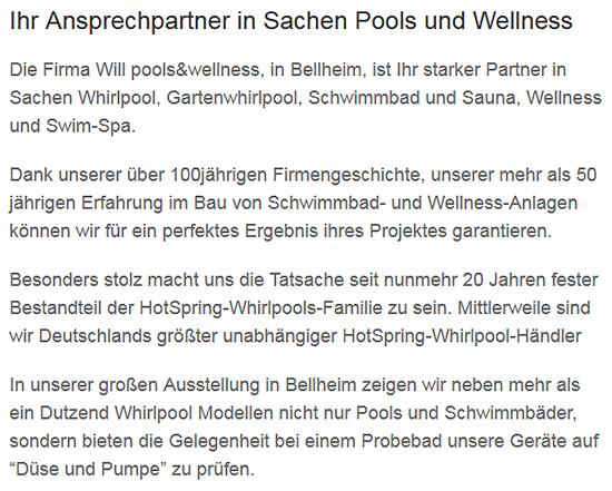 Pool, Schwimmbadbau aus  Dettenheim - Liedolsheim, Rußheim und Alt Dettenheim